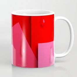 Squares and Tears Coffee Mug