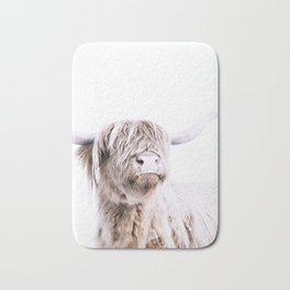 HIGHLAND CATTLE PORTRAIT Bath Mat