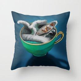 Ahoy Throw Pillow