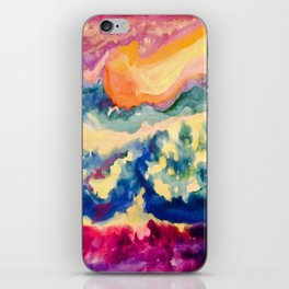 My Starry Watercolor Night iPhone Skin