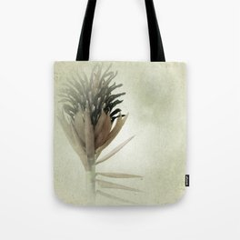 Bromeliad Flower Botanical Photograph Tote Bag