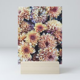 Fall Flowers Mini Art Print