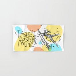 Tropical State of mind - Landscape - Color Hand & Bath Towel