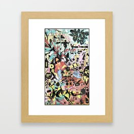 Double Double Def Framed Art Print