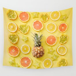 Citrus Party Wall Tapestry