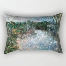 Riverwalking Rectangular Pillow
