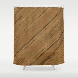 Paldao Wood Shower Curtain