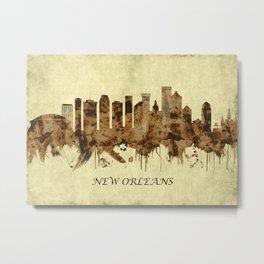 New Orleans Louisiana Cityscape Metal Print