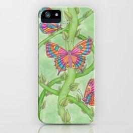 Butterfly Garden iPhone Case