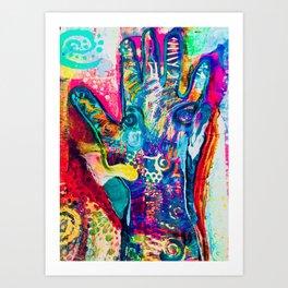 Trust and Power Art Print