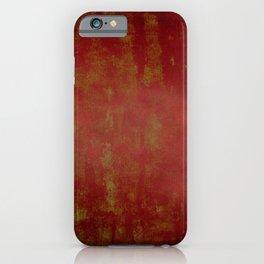 Grunge red background iPhone Case