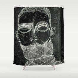 Alisa Ahmann by Txema Yeste (B) - Artist: Leon 47 ( Leon XLVII ) Shower Curtain
