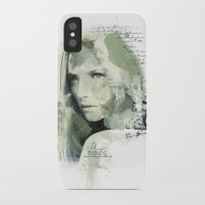 Watercolour Girl Slim Case iPhone X