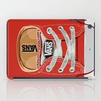 vans iPad Cases featuring Cute red Vans all star baby shoes apple iPhone 4 4s 5 5s 5c, ipod, ipad, pillow case and tshirt by Three Second