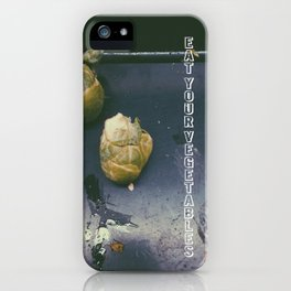 Eat Your Vegetables iPhone Case