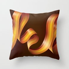 Jazz Festival 2010 (Combined) Throw Pillow