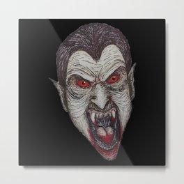Monstrous Vampire Metal Print