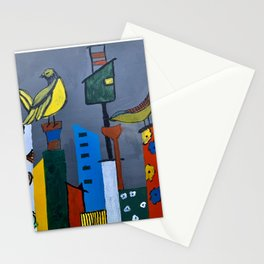 Perched on the High-rise Stationery Cards