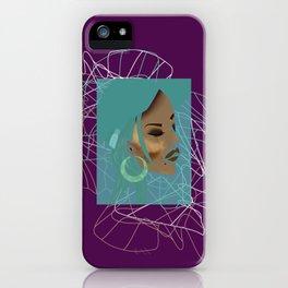 baddie02 iPhone Case