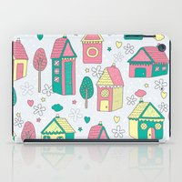 home sweet home iPad Cases featuring Home by One April