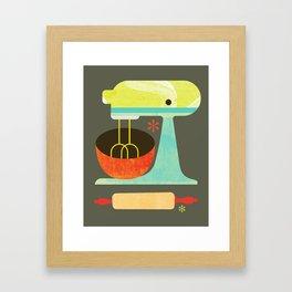 Kitchen Mix & Roll Framed Art Print
