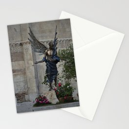 Statue of an Angel Stationery Cards