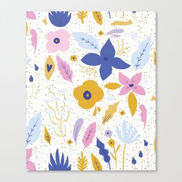 Sunday Florals Canvas Print