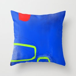 Blocks-Playground Throw Pillow