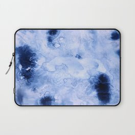Marbled Water Blue Laptop Sleeve