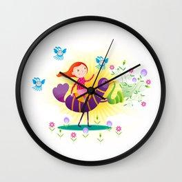 Lorem Ipsum 01 Wall Clock