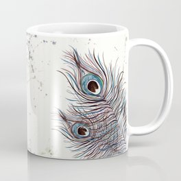 BOHO PEACOCK FEATHER Coffee Mug
