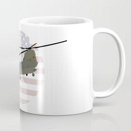 Military CH-47 Chinook Helicopter Coffee Mug