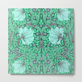 """William Morris """"Pimpernel"""" 4. Metal Print"""