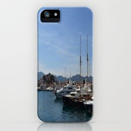 Marmaris Yachting Marina - Netsel iPhone Case