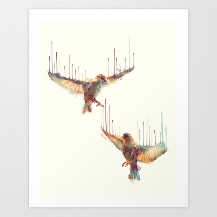 Discover the motif AWAKE by Amy Hamilton as a print at TOPPOSTER