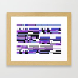 Debussy Little Shepherd (Purples) Framed Art Print