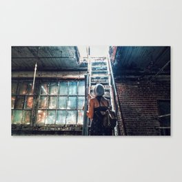 Glass Canvas Print