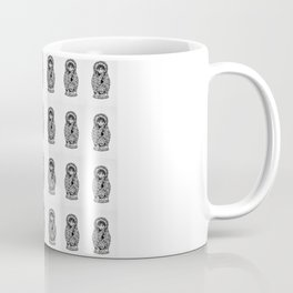 матрёшка Tiled Coffee Mug