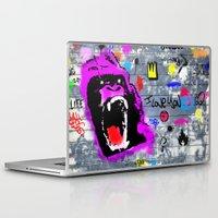 gorilla Laptop & iPad Skins featuring GORILLA by morganPASLIER