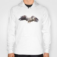 andreas preis Hoodies featuring Arctic Eagle by Andreas Lie