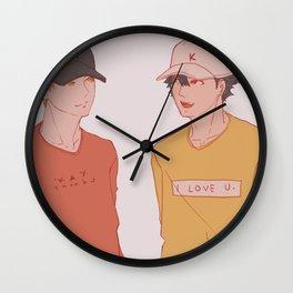 Haikyuu - Kurotsuki 18 Wall Clock