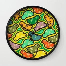 Happy birds Wall Clock