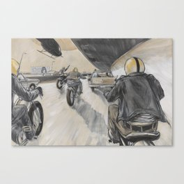 Valley of the Kaisers Canvas Print