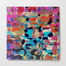 linear miro 4a Metal Print