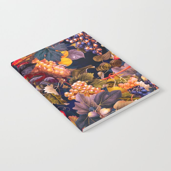 Vintage Fruit Pattern VI Notebook