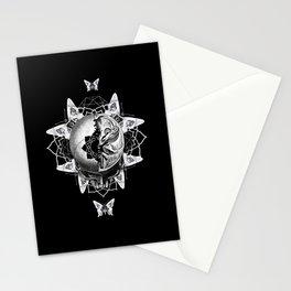 Dark Light Series Stationery Cards
