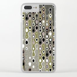 Geo Flow Clear iPhone Case