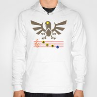bioshock infinite Hoodies featuring Bioshock Infinite: Song of the Songbird by Macaluso
