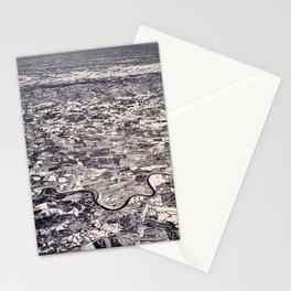 Aerial B&W Stationery Cards