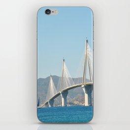 Rio Antirrio Bridge iPhone Skin